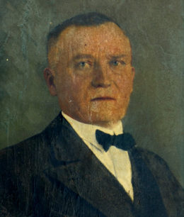 Hermann Mettig um 1920