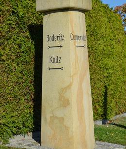 Wegesäule in Cunnersdorf